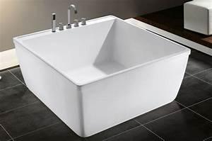 Korea Small Size Square Bath Tub Portable Acrylic