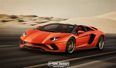 lamborghini aventador s roadster with roof 2018 lamborghini aventador s roadster version previewed by x tomi with lowered roof drivers