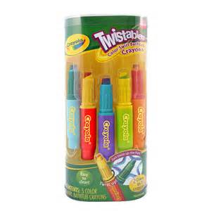 crayola twistables color swirl bathtub crayons 5 pack