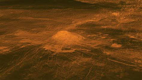 space images surface warmth   venus volcano