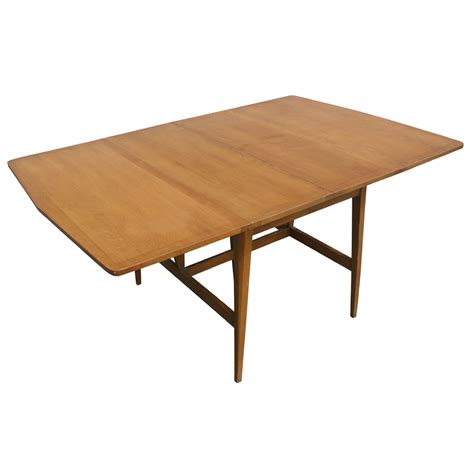 drop leaf table construction 7ft heywood wakefield drop leaf extension dining table