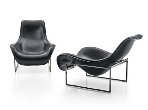 mart fauteuil en cuir by b b italia design antonio citterio