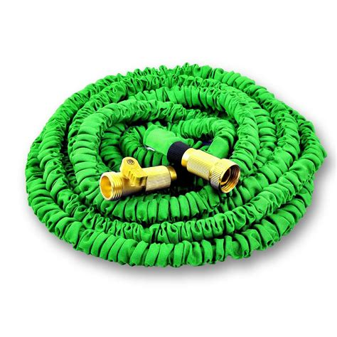 25 ft garden hose world s strongest 25 ft expandable garden hose with made