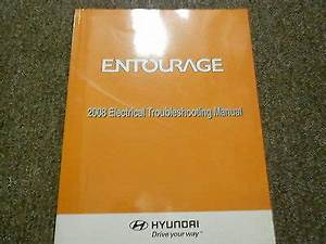 2008 Hyundai Entourage Electrical Troubleshooting Wiring