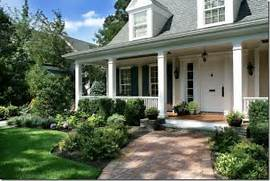 Front Porch Landscaping Ideas Photos by 5 Ways To Create Curb Appeal Increase Home Values Southern Hospitality