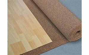 rouleau de liege isolation phonique pour sols ep 3 mm With isolation sol parquet