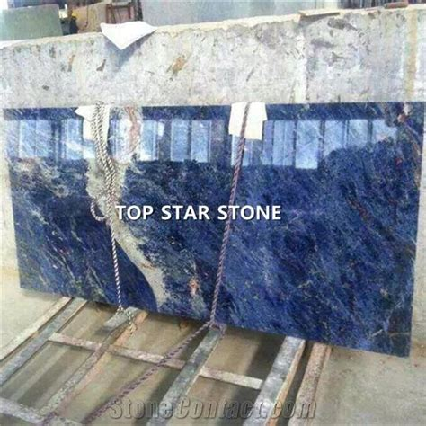 cheap blue color natural stone solidate blue granite