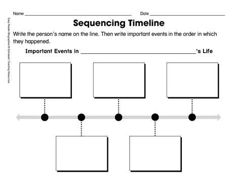 15 Best Images Of First Grade Timeline Worksheets George