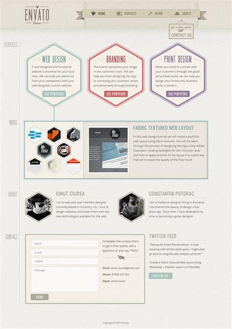 40 best tutorials to design website templates in photoshop creativecrunk