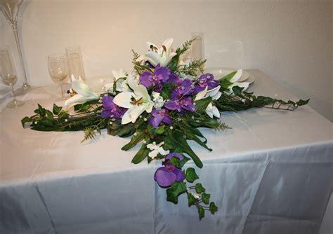 altargesteck lilien und orchideen altargesteck lilien
