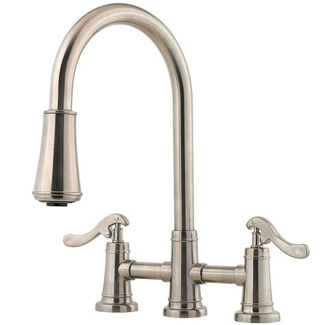 kitchen faucet 3 pfister ashfield 2 handle pull sprayer kitchen faucet