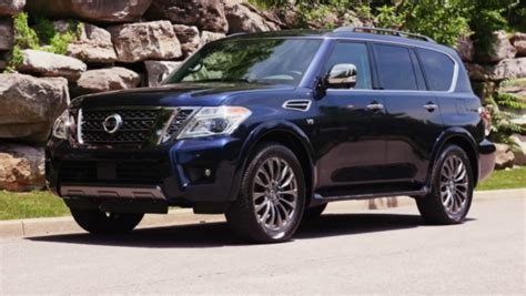 nissan armada redesign specs suv truck reviews