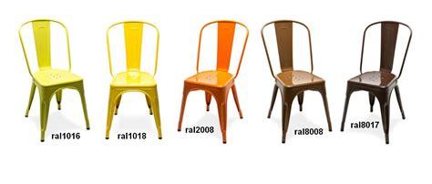 peinture table cuisine chaise a tolix jaune chaise design tolix