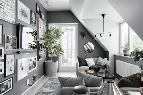 2 Gorgeous Attic Apartments That Use Grey As Base 2 gorgeous attic apartments that use grey as base instaopin