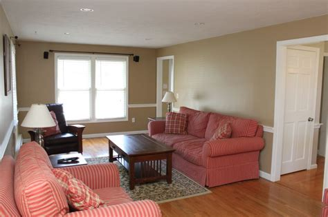 Living Room  Benjamin Moore Sherwood Tan #1054  Home