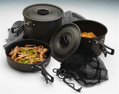camping cookware trailblazer texsport quantanium quality cook choose lightweight nonstick
