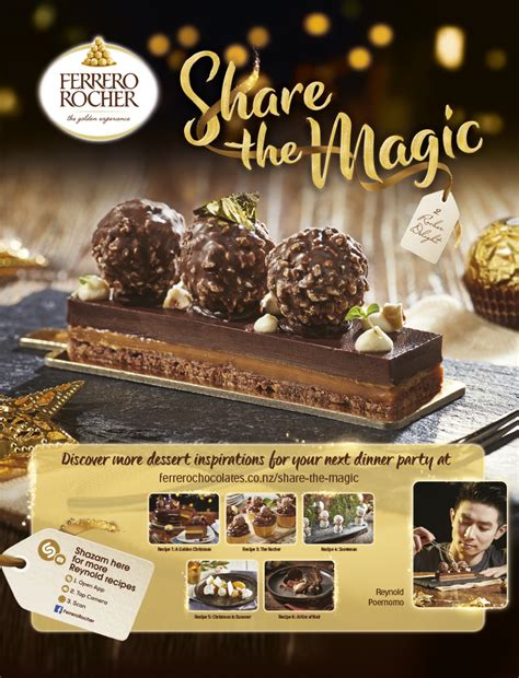 ferrero rocher launches  christmas campaign