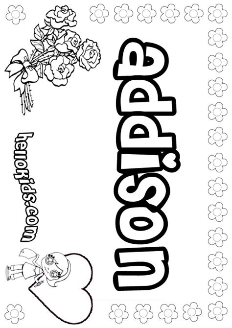 addison coloring pages hellokidscom