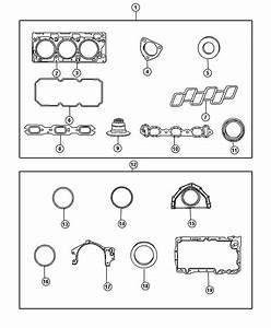 Dodge Challenger Gasket Package  Engine Upper