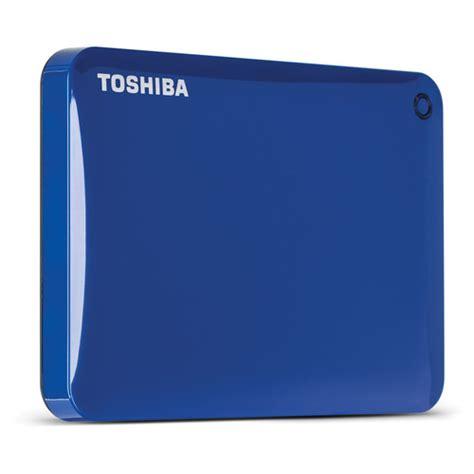 toshiba 3tb canvio connect ii portable hard drive hdtc830xl3c1