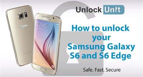 The Easiest Way To Unlock Your Samsung Galaxy S6 Boioro