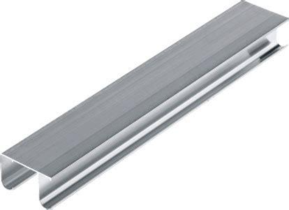 Schiebetueren Fuer Verschiedene Anwendungsbereiche by Doppell 228 Ufige F 252 Hrungsschiene Aus Aluminium Systeme Handel