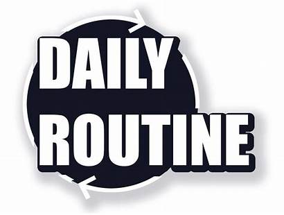 Routine Daily Routines Yardville Pure English Workplace