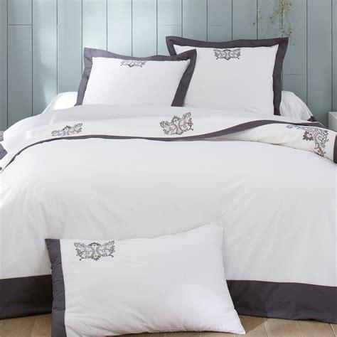 parure de lit qualite parure bijoux anthracite linge de lit de qualit 233 tradition des vosges