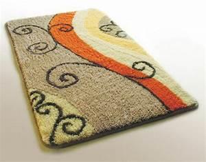 les tapis de bain originaux sont ravissants archzinefr With tapis design et originaux