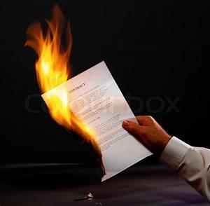 Fire paper | Stock Photo | Colourbox