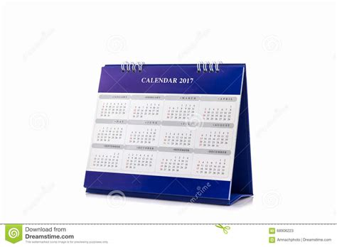 calendrier bureau photo calendrier 2017 de spirale de bureau de livre blanc photo