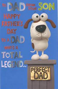 To Dad From Son Happy Father's Day Card | Cards | Love Kates