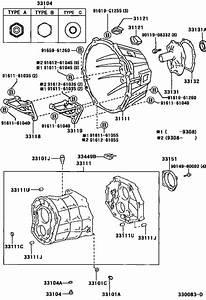 Clutch Housing  U0026 Transmission Case  Mtm  For 2002