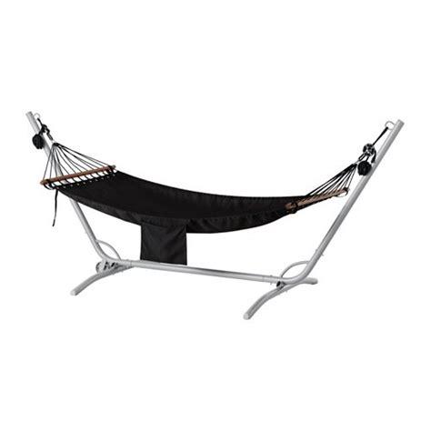 garoe fredoen hammock  stand grayblack ikea
