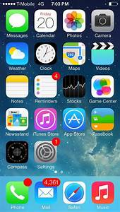 Iphone Home Screen Ios 7
