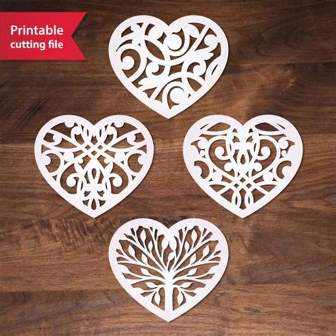 Vector collection of stylized tribal feather arrows. Silhouette Cricut heart Valentine svg template ai eps dxf