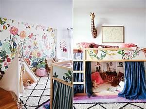 inspiration chambre d39enfant a la deco originale With tapis chambre bébé avec dr bach fleurs