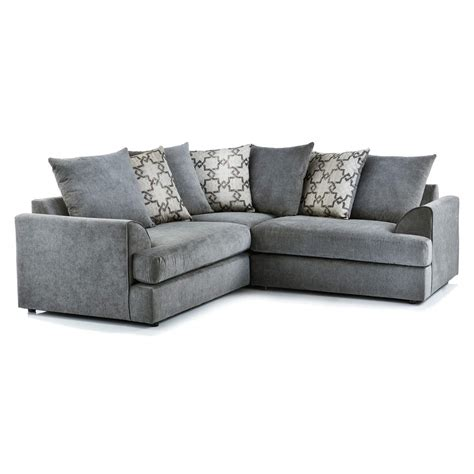 Grey Corner Settee by Washington Fabric Corner Sofa In Charcoal Just Sit On It