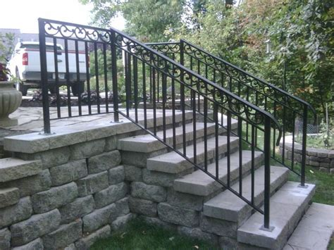 stairs amusing outdoor railings outdoor stair railing kit