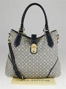 louis vuitton encre monogram idylle elegie tote bag