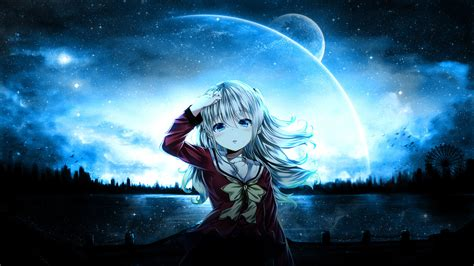 charlotte nao tomori wallpaper by adiim on deviantart
