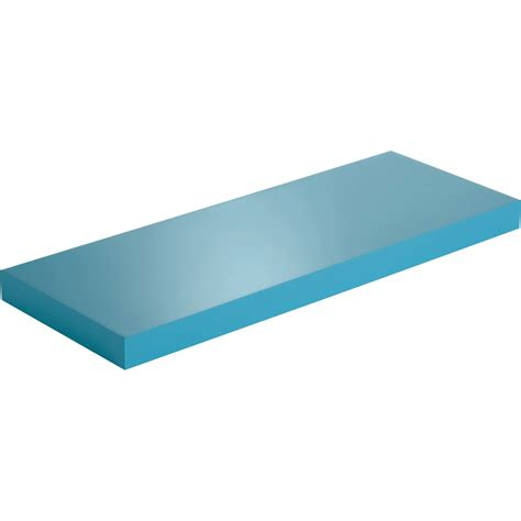 leroy merlin tablette murale etag 232 re murale bleu atoll n 176 4 spaceo l 60 x p 23 5 cm ep 38 mm leroy merlin