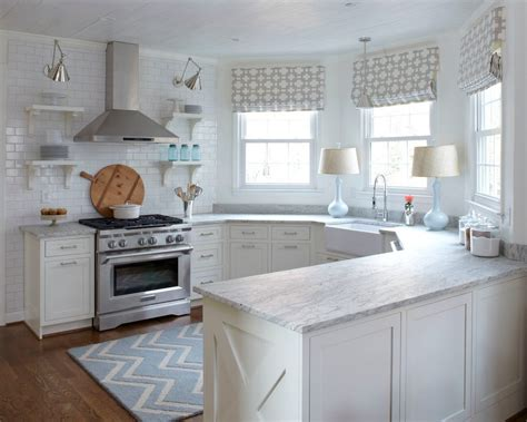 gray farmhouse table white wave granite kitchen transitional with farmhouse