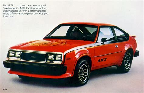 AMC Spirit AMX : 1979 | Cartype