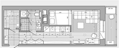 gem cuisine plans pour aménager et décorer un appartement de 30m2