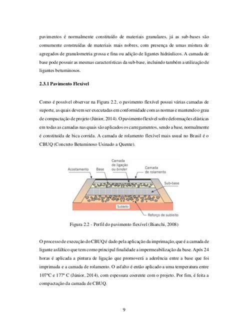 Lade Da Pavimento by Disserta 231 227 O Analise Da Infraestrutura De Pavimentos