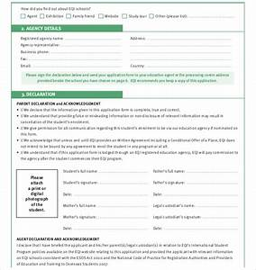 11 school application templates pdf doc free With college application template