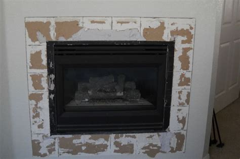 tile fireplace surround construction picture post