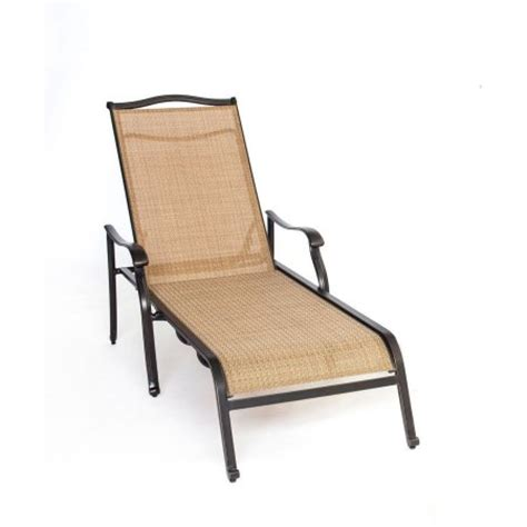 hanover outdoor monaco chaise lounge chair walmart com