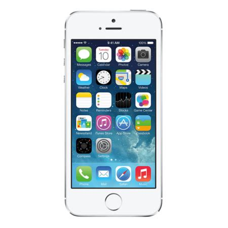 iphone 5s t mobile used refurbished iphone 5s t mobile silver 16gb me324ll a